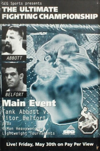 Poster of UFC 13: The Ultimate Force