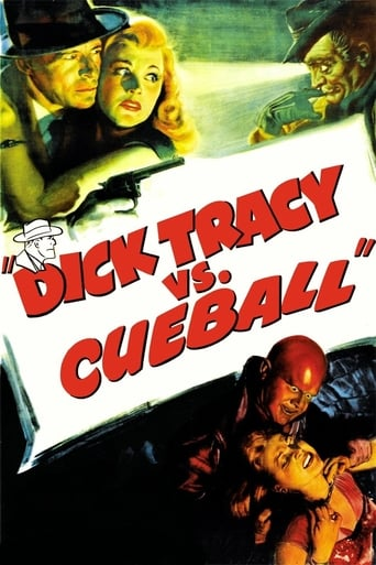 Poster of Dick Tracy vs. Cueball