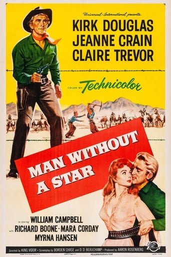 Man Without a Star (1955) - poster