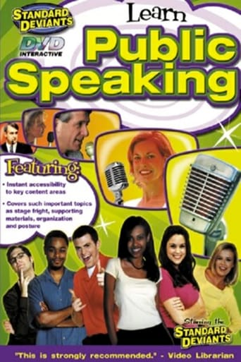 Poster of Learn Public Speaking: The Standard Deviants
