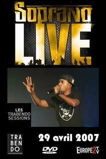 Poster of Soprano live Trabendo Street Session