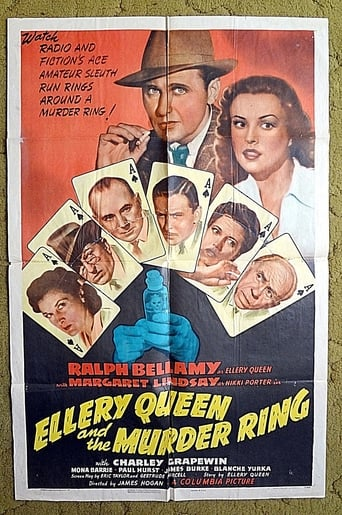 Poster of Ellery Queen and the Murder Ring