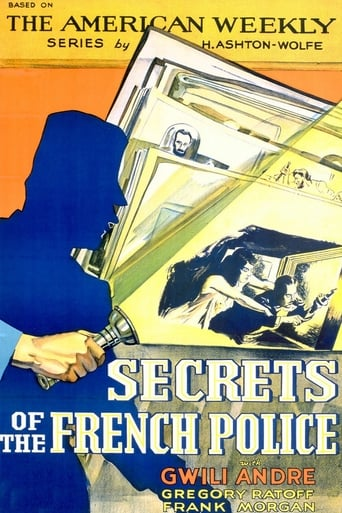 Poster of Secrets of the French Police