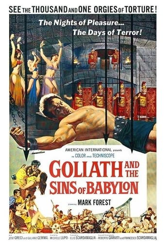 Watch Goliath and the Sins of Babylon 1963 full online free