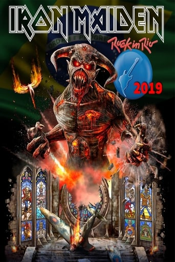Iron Maiden Rock In Rio 2019 - Poster