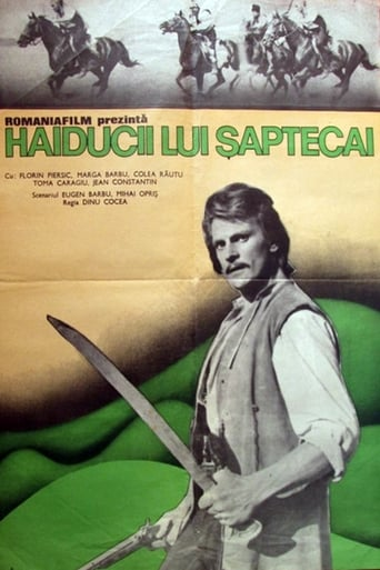 Poster of Haiducii lui Șaptecai