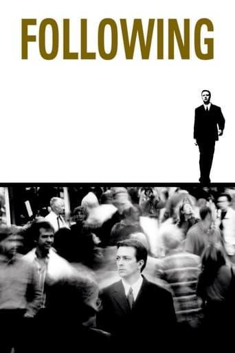 Following (1998) - poster