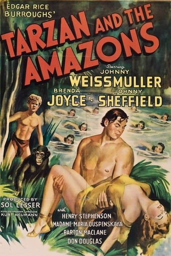 Poster of Tarzan and the Amazons