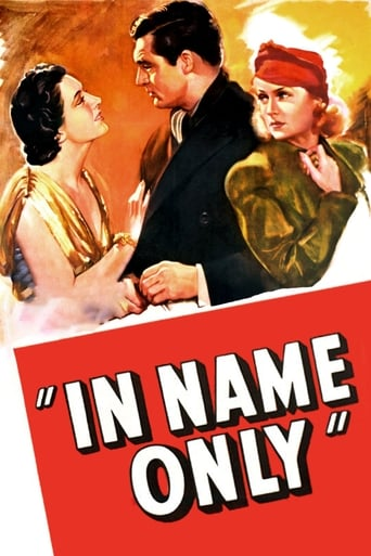 Poster of In Name Only