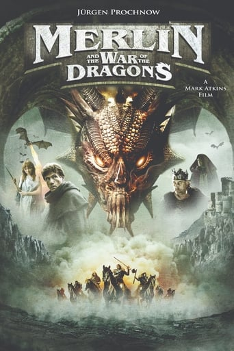 Poster of Merlin and the War of the Dragons