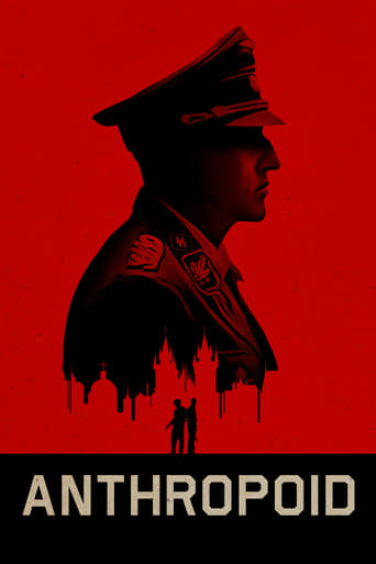 Official movie poster for Anthropoid (2016)
