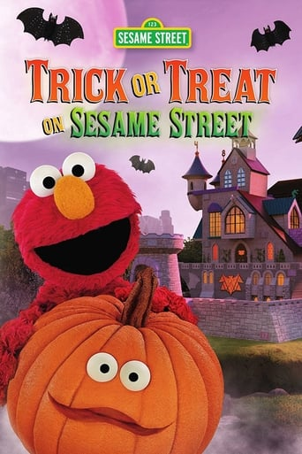 Trick or Treat on Sesame Street Movie Poster