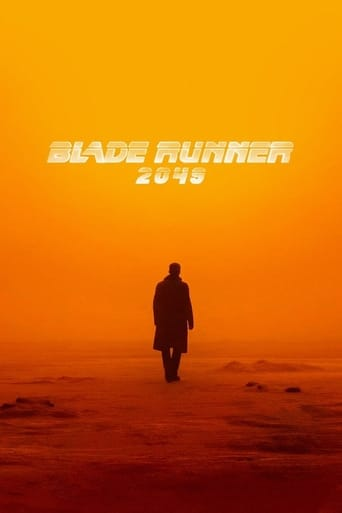 The Blade Runner 2049 (2017) movie poster image