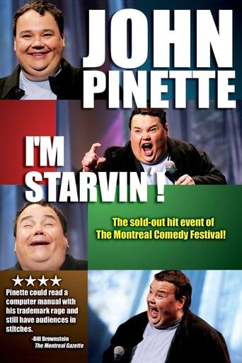 Poster of John Pinette: I'm Starvin'!