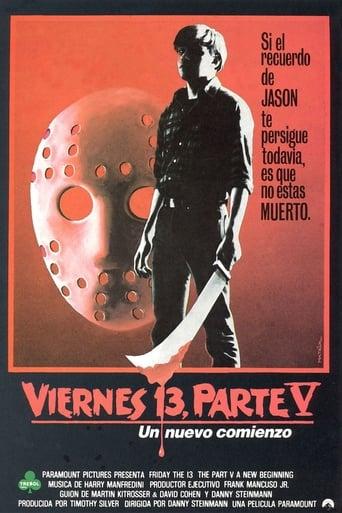 Poster of Viernes 13. Parte V: Un nuevo comienzo