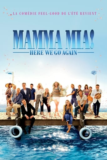 Poster of Mamma Mia ! Here We Go Again