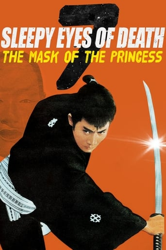 Poster of Sleepy Eyes of Death: The Mask of the Princess