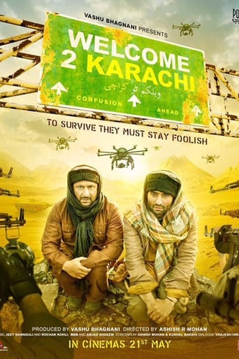 Poster of Welcome 2 Karachi