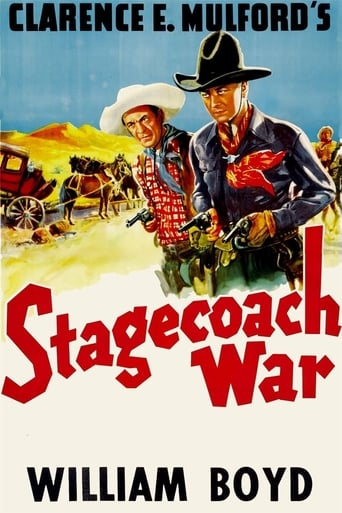 Poster of Stagecoach War