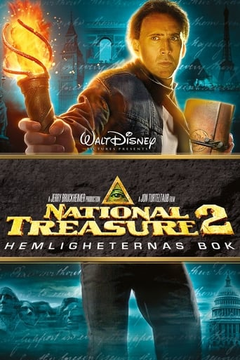 Poster of National Treasure - Hemligheternas bok