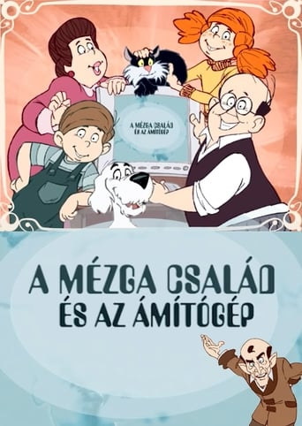 Poster of A Mézga család és az ámítógép