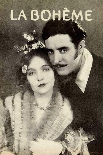 Poster of La Bohème