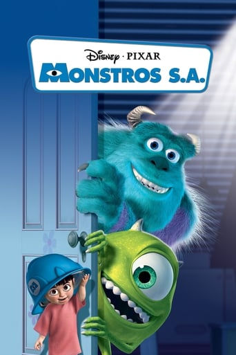 Monstros S.A. - Poster