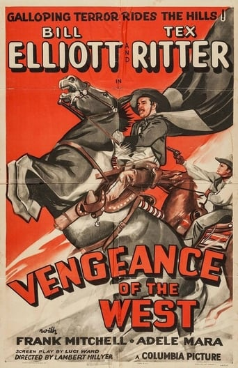 Poster of Vengeance of the West