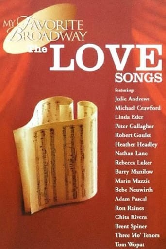 Poster of My Favorite Broadway: The Love Songs