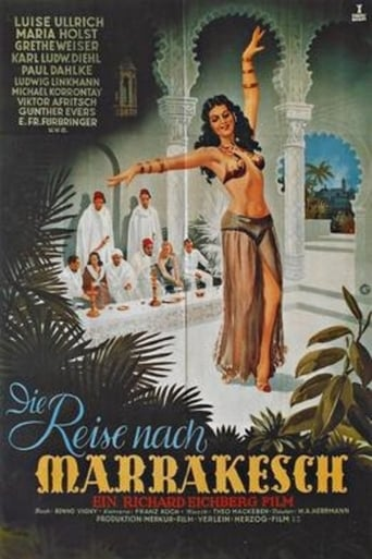 Poster of The Trip to Marrakesh