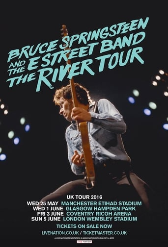Poster of Bruce Springsteen - The River Tour - Wembley 2016
