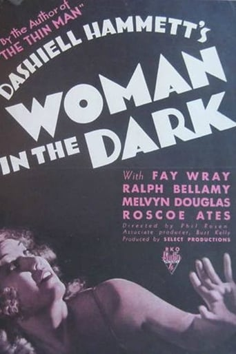 Poster of Woman in the Dark
