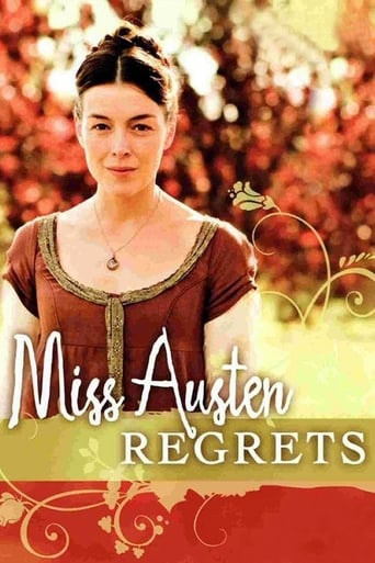 Poster of Miss Austen Regrets