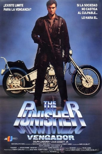 Poster of The Punisher (Vengador)