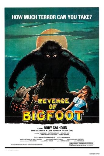 Poster of Revenge of Bigfoot