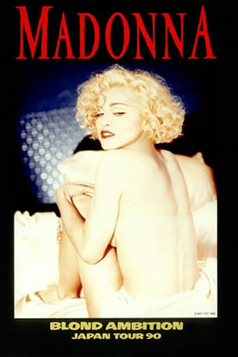 Poster of Madonna: Blond Ambition - Japan Tour 90