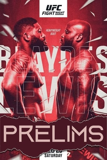 Watch UFC Fight Night 185: Blaydes vs. Lewis - Prelims 2021 full online free