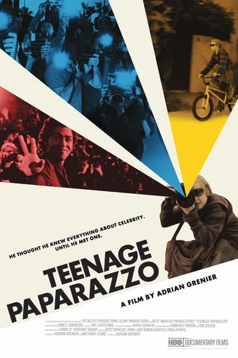 Poster of Teenage Paparazzo