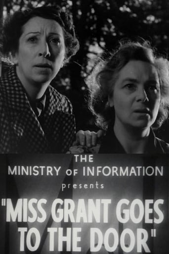 Poster of Miss Grant Goes to the Door