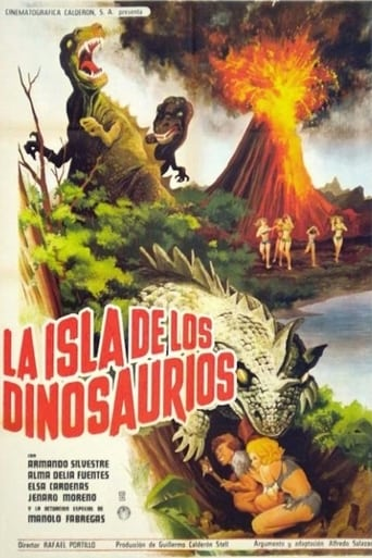 Poster of The Island of the Dinosaurs