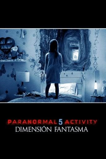 Poster of Paranormal Activity: Dimensión fantasma