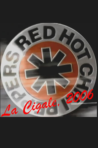 Poster of Red Hot Chili Peppers : Live at La Cigale