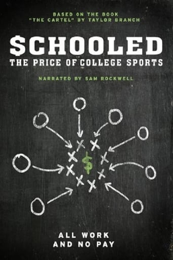 Poster of Schooled: The Price of College Sports