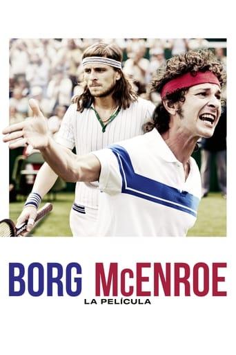 Poster of Borg McEnroe. La película