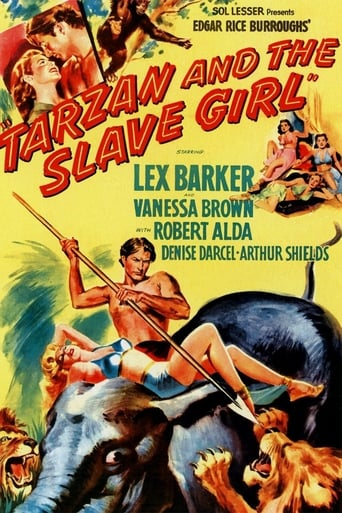 Poster of Tarzan and the Slave Girl