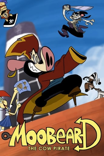 Poster of MooBeard the Cow Pirate
