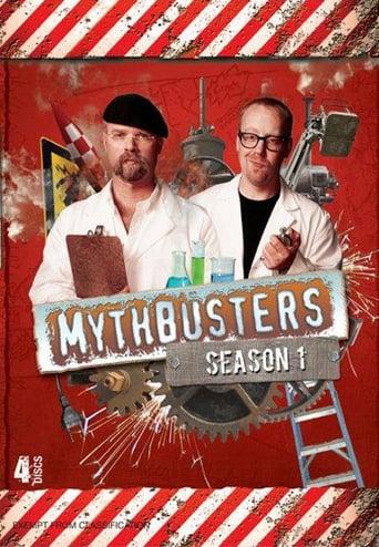 Os Caçadores de Mitos 1ª Temporada - Poster