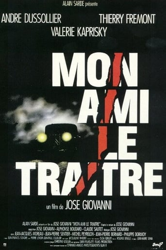 Poster of Mon ami le traître