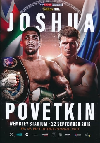 Poster of Anthony Joshua vs. Alexander Povetkin
