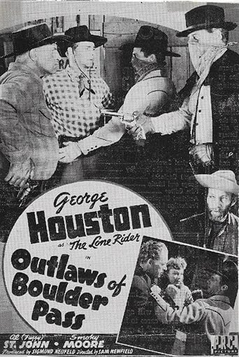 Poster of Outlaws of Boulder Pass